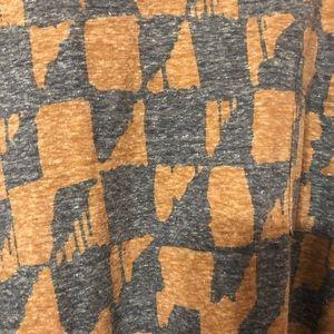 LuLaRoe Large Carly Aztec Print NWOT
